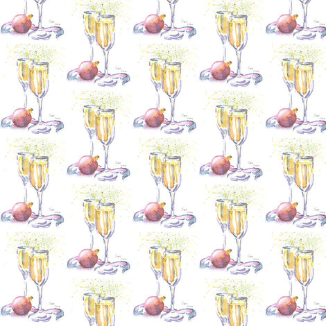 new_year fabric by loveitaly on Spoonflower - custom fabric