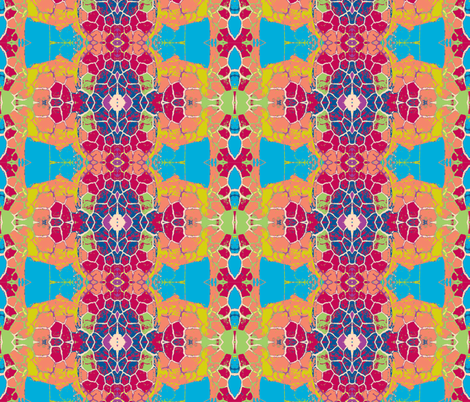 Fiesta of Giraffes fabric by susaninparis on Spoonflower - custom fabric