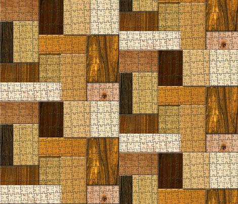 1 Splintered puzzled life fabric by tracydb70 on Spoonflower - custom fabric