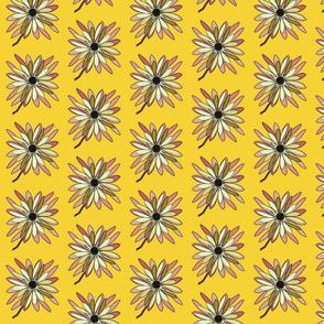 Floral Sunburst