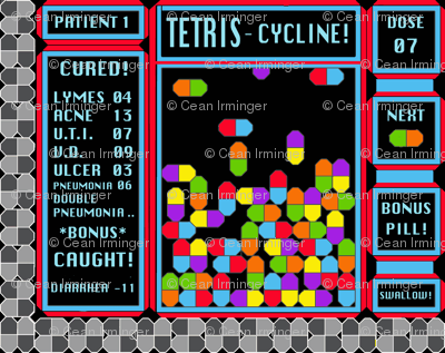 Tetris-cycline : The Game