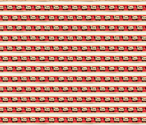 Sheep-Ribbon fabric by incomparable on Spoonflower - custom fabric