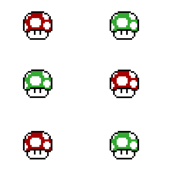 Mario Game Mushrooms