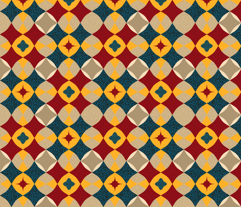Diamond Patterns fabric by whatsit on Spoonflower - custom fabric