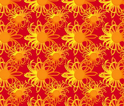hot sky  fabric by melissamarie on Spoonflower - custom fabric