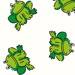 Frogs Of Contentment