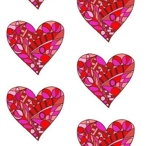 Mackintosh Heart - red