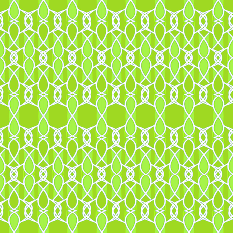 Lace on Green fabric by joanmclemore on Spoonflower - custom fabric