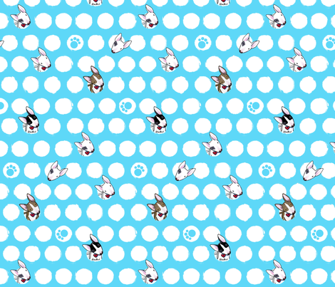 Bully Dots fabric by kiniart on Spoonflower - custom fabric