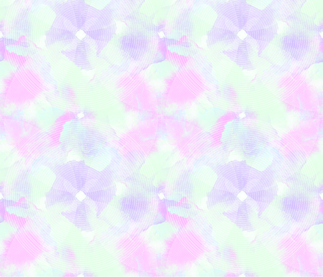 Pastel lotus fabric by jhacarlson on Spoonflower - custom fabric