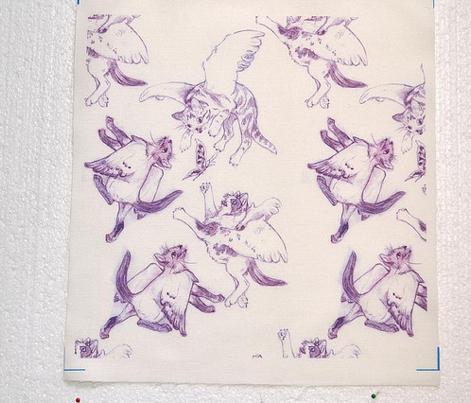 Owllykittens in purple