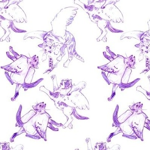 Owllykittens in purple
