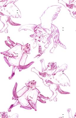 Owllykittens in magenta