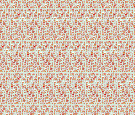 Cupcakes! fabric by sheena_hisiro on Spoonflower - custom fabric