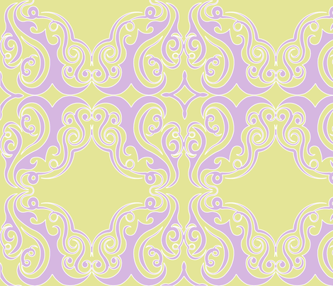 damask66 fabric by rkinteriors on Spoonflower - custom fabric