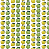 Green and Yellow Apples