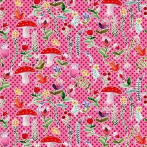 fleur des bois rose S