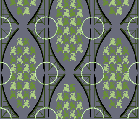 Ramped Up fabric by terridee on Spoonflower - custom fabric