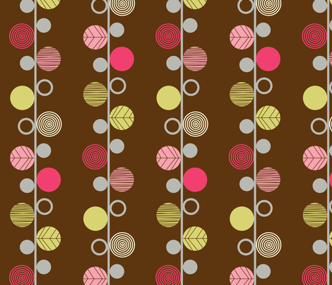linear dots fabric by amel24 on Spoonflower - custom fabric