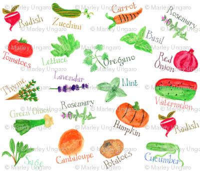 Langley's Garden Markers