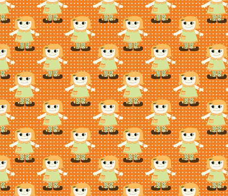 Chloe fabric by val_rousseau on Spoonflower - custom fabric