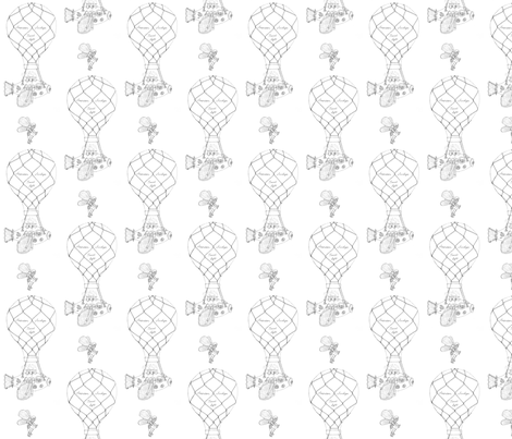 steampunk air fabric by victorialasher on Spoonflower - custom fabric