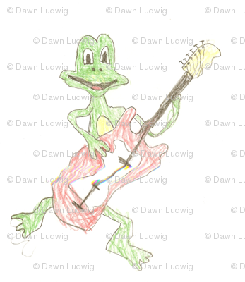frogger_rock