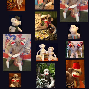 Side Show Sock Monkeys