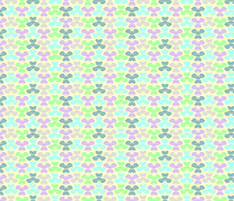 © 2011 Butterflum - Glow fabric by glimmericks on Spoonflower - custom fabric