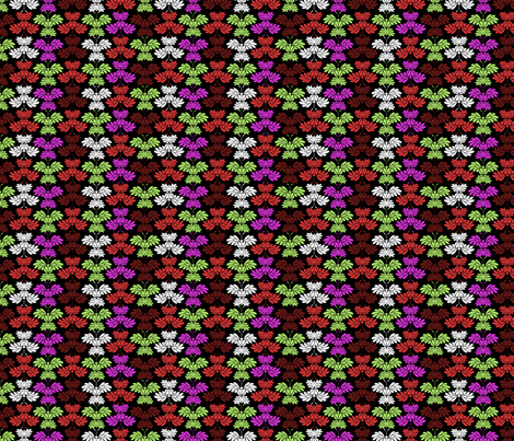 © 2011 Butterflums - Intensity fabric by glimmericks on Spoonflower - custom fabric