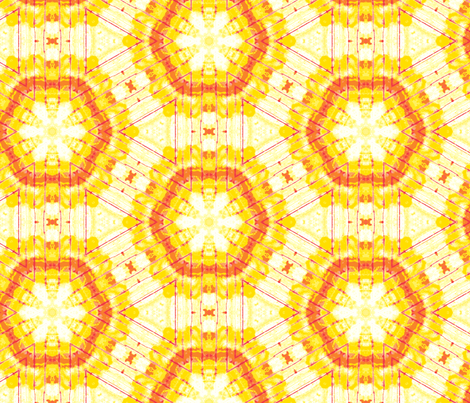 yellow sun fabric by heikou on Spoonflower - custom fabric