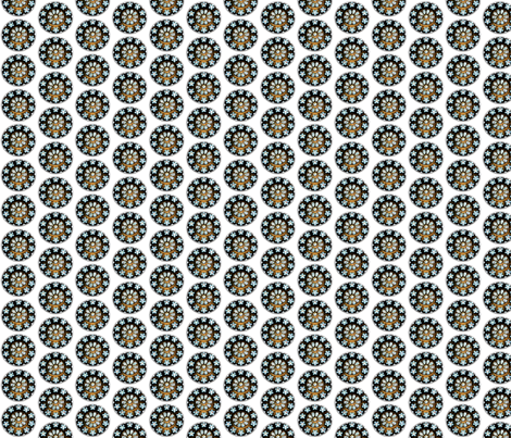 Rose Window fabric by hanie on Spoonflower - custom fabric