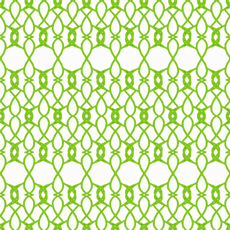 Lace in Green fabric by joanmclemore on Spoonflower - custom fabric