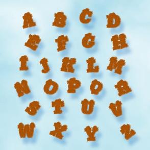 Foal Skin Alphabet
