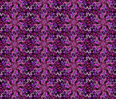 Purple fire cracker tracks fabric by vinkeli on Spoonflower - custom fabric