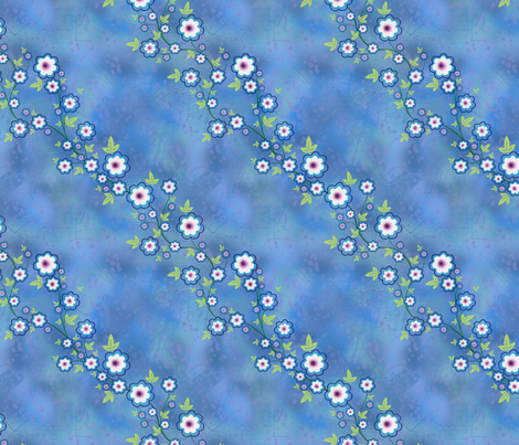 Twilight Garden fabric by shirlene on Spoonflower - custom fabric