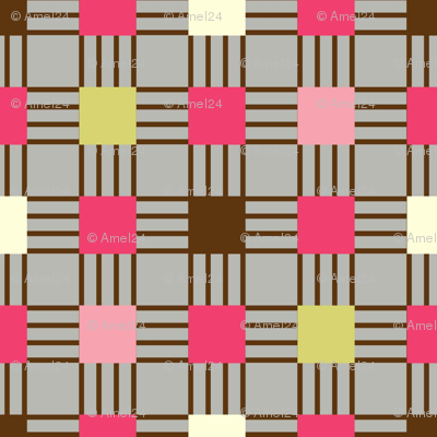 linear plaid