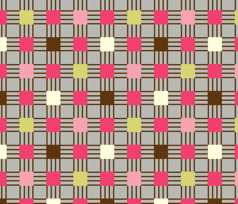 linear plaid fabric by amel24 on Spoonflower - custom fabric