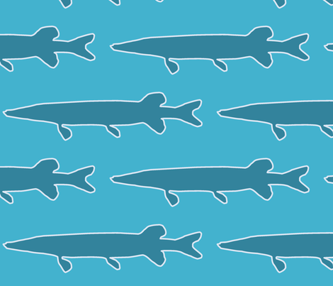 muskie fabric by slkanitz on Spoonflower - custom fabric