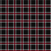 Persona 5 Uniform Black, Red, & White Plaid