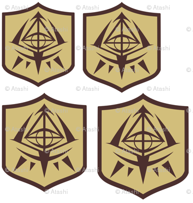 Aria the Scarlet Ammo School Emblem
