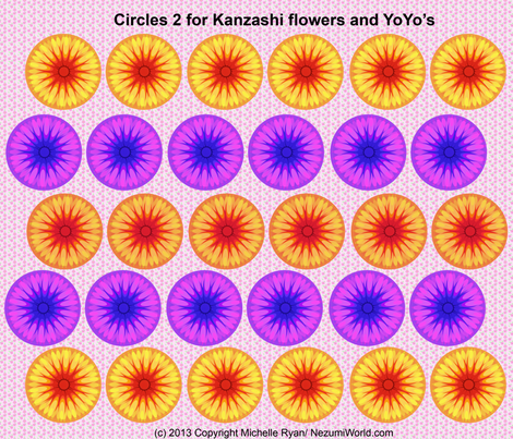 Circles No.2 fabric by nezumiworld on Spoonflower - custom fabric
