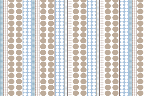 Pearls fabric by designedtoat on Spoonflower - custom fabric