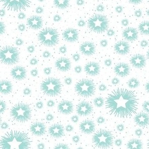 aqua starburst