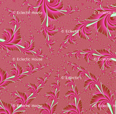 Blooming Spiral in Pink