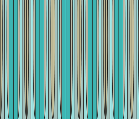 Balance (Sea and Foam) fabric by david_kent_collections on Spoonflower - custom fabric