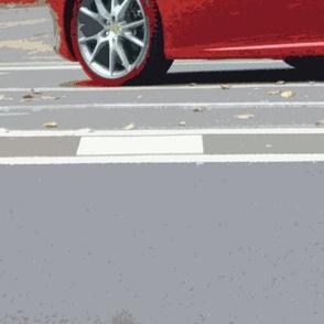 Red Ferrari, Paris