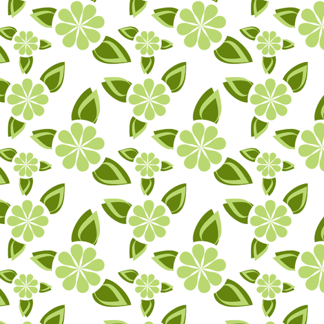 Minimalist Mojito fabric by eppiepeppercorn on Spoonflower - custom fabric