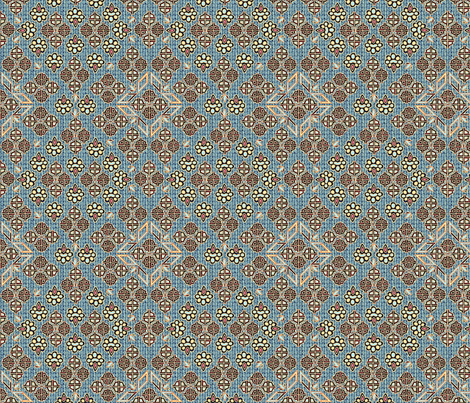 ©2011 Tribal - Ciel fabric by glimmericks on Spoonflower - custom fabric