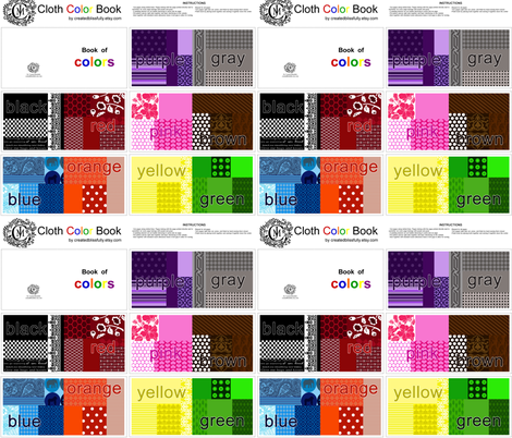 Book of Colors Kit fabric by createdblissfully on Spoonflower - custom fabric